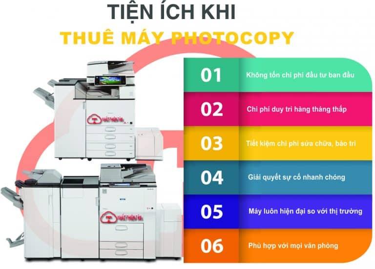 Lợi ích thuê máy photocopy