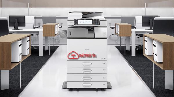 máy photocopy ricoh aficio mp 3054 trong văn phòng