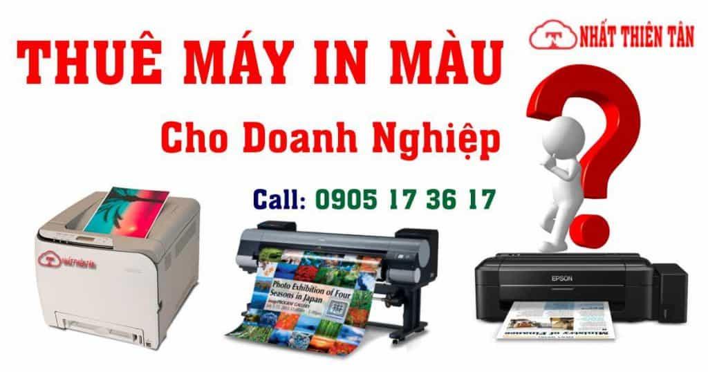 Thuê máy in màu tại Đà Nẵng