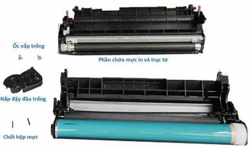 Kiểm tra hộp mực máy photocopy bị vệt đen